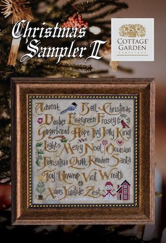 Christmas Sampler 2 - Cottage Garden Samplings