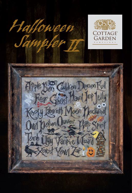 Halloween Sampler 2 - Cottage Garden Samplings
