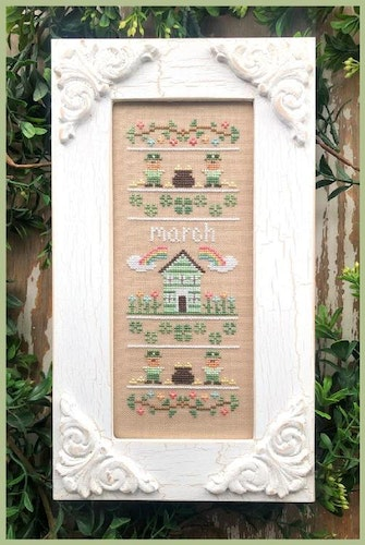 March Sampler - Country Cottage Needleworks