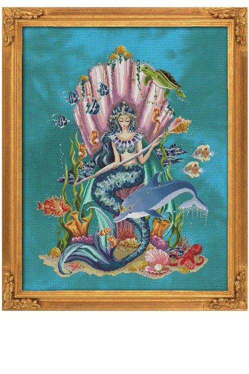 Amphitrite, Queen Goddess Of The Sea - Bella Filipina