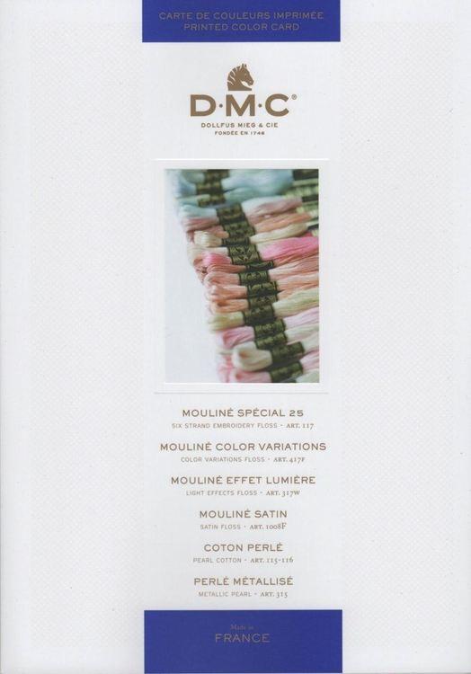 DMC Färgkarta  - Tryckta färger