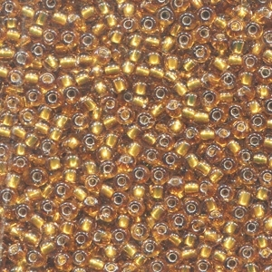 Seed Beads 02048 Golden Olive