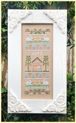 April Sampler - Country Cottage Needleworks