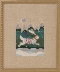 Nora Corbett Winter Hare - Holiday in the Forest
