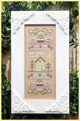 June Sampler - Country Cottage Needleworks