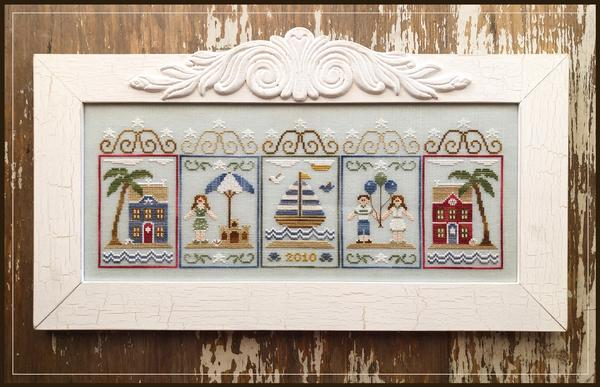 Summer Seascape - Country Cottage Needleworks