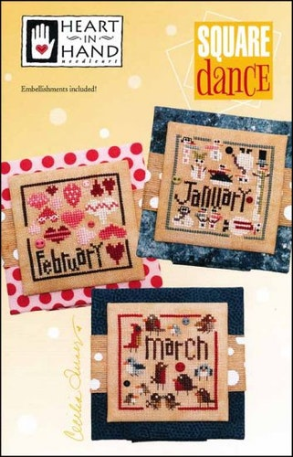 Square Dance: Jan, Feb, March - Heart in Hand