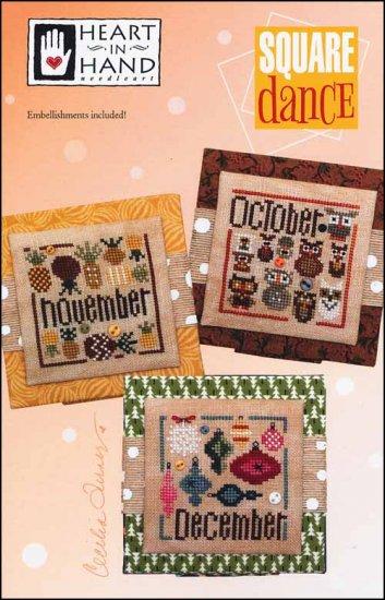 Square Dance: October, November, December - Heart in Hand