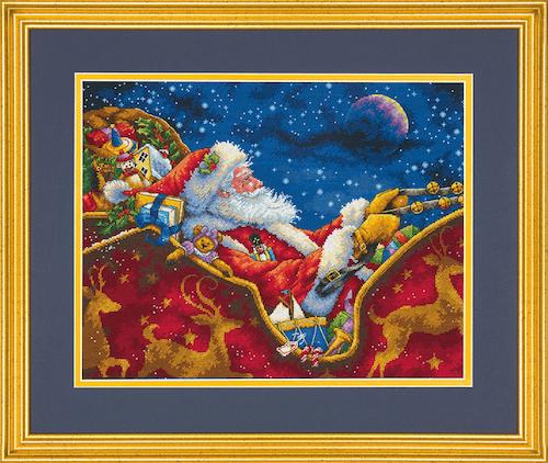 Dimensions Gold  - Santas Midnight Ride