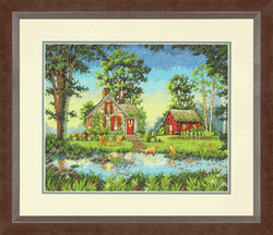 Dimensions Gold  -  Summer Cottage