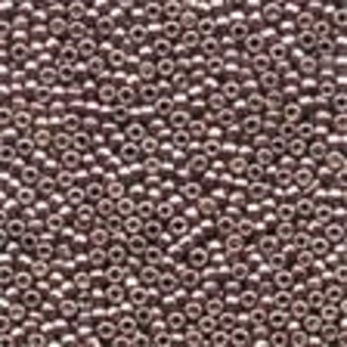 Petit Glass Beads 40556 Antique Silver
