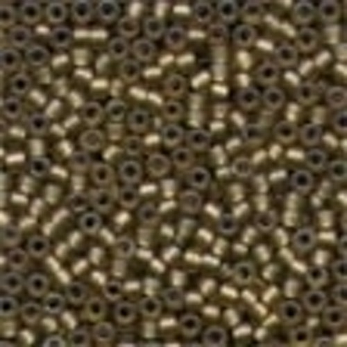 Frosted Glass Beads 62057 Khaki