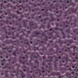 Frosted Glass Beads 62024 Heather Mauve