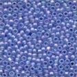 Frosted Glass Beads 60168 Sapphire
