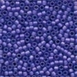 Frosted Glass Beads 62034 Blue Violet
