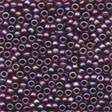 Frosted Glass Beads 60367 Garnet