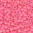 Frosted Glass Beads 62005 Dusty Rose