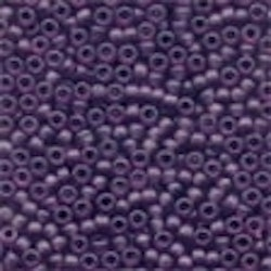 Frosted Glass Beads 62056 Boysenberry