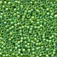 Frosted Glass Beads 62049 Spring Green