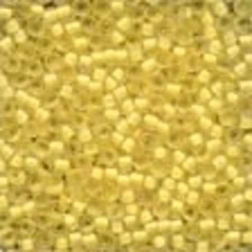 Frosted Glass Beads 62041 Buttercup