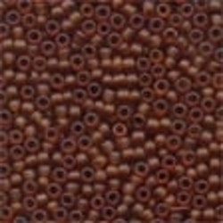 Frosted Glass Beads 62023 Root Beer