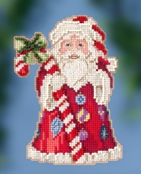 Mill Hill - Candy Cane Santa by Jim Shore (2020)