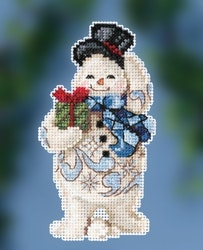 Mill Hill - Gift Giving Snowman by Jim Shore (2020)