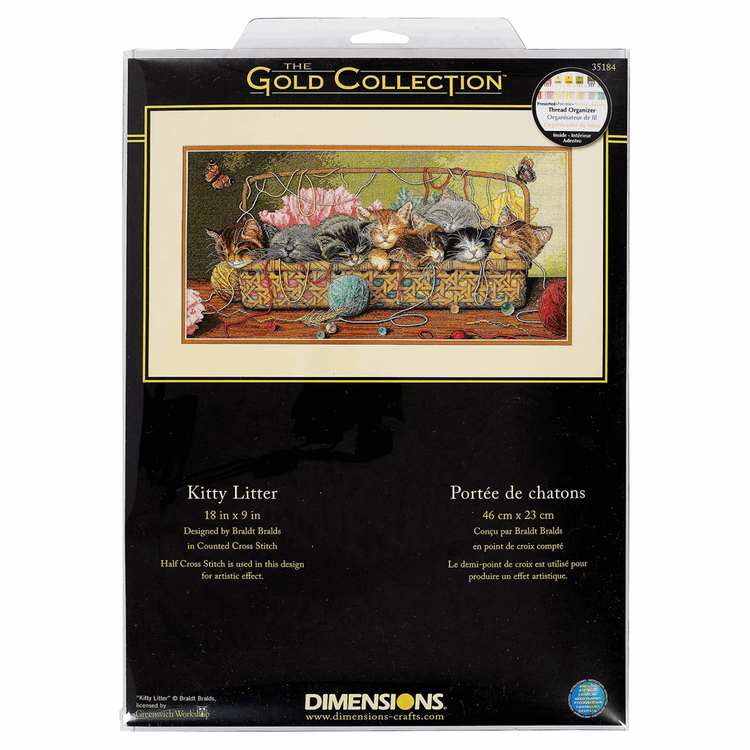 Dimensions Gold  - Kitty Litter