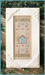 July Sampler - Country Cottage Needleworks