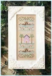 August Sampler - Country Cottage Needleworks