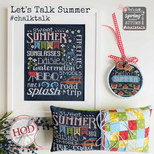Let's Talk Summer - Hands On Design