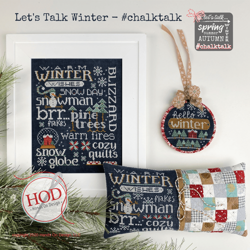 Let's Talk Winter - Hands On Design