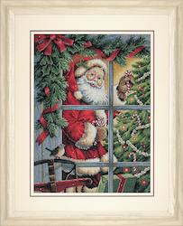 Dimensions Gold  - Candy Cane Santa