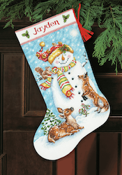 Dimensions - Winter Friends Stocking