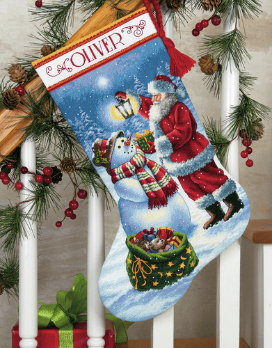 Dimensions Gold  - Holiday Glow Stocking