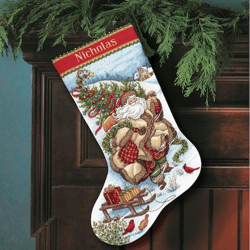 Dimensions Gold  - Santa's Journey Stocking