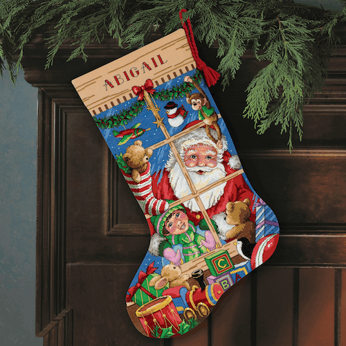 Dimensions Gold  - Santa's Toy Stocking