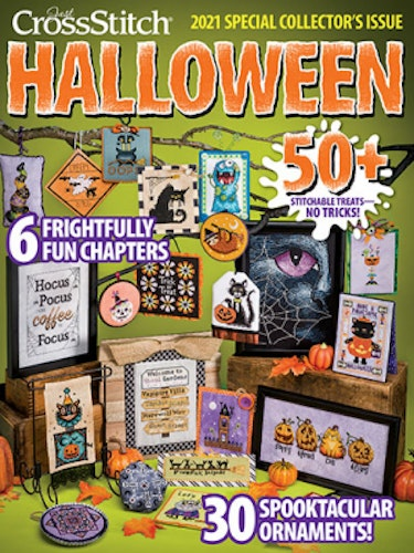 2021 Just Cross-Stitch Halloween Special Collector's Issue