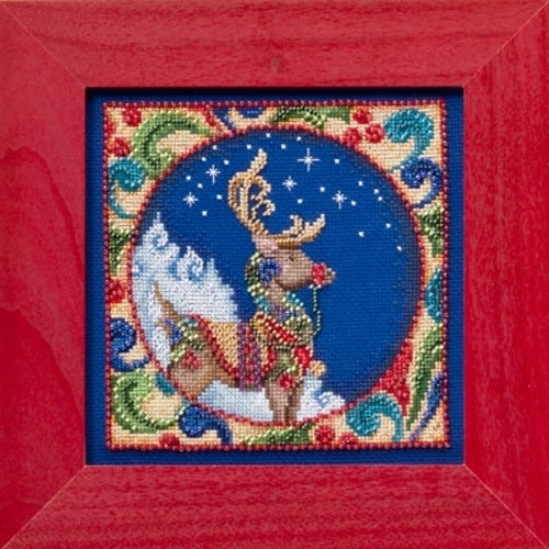 Mill Hill -  Reindeer by Jim Shore (2014)