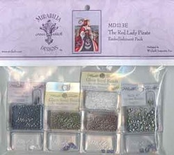 Embellishment Pack Red Lady Pirate