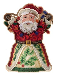 Mill Hill - Santa with Lights by Jim Shore (2021)