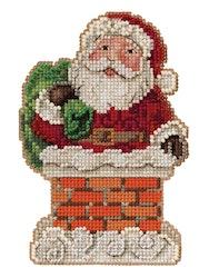 Mill Hill - Santa in Chimney by Jim Shore (2021)