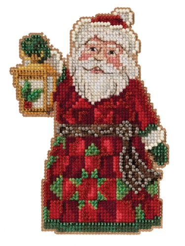 Mill Hill - Santa with Lantern by Jim Shore (2021)