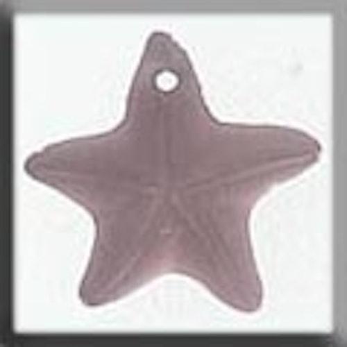 Glass Treasures 12243 Starfish Matte Rosaline
