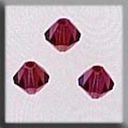 Crystal Treasures 13063 Rondele Champagne Fuschia