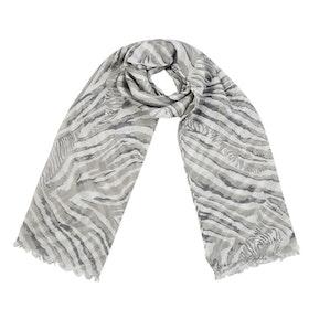 Scarf - Hello Zebra - grå