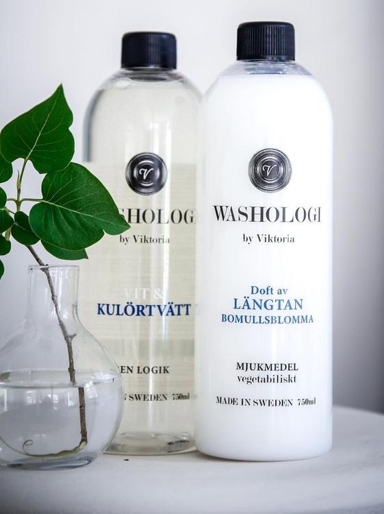 Washologi - Vit & Kulörtvätt