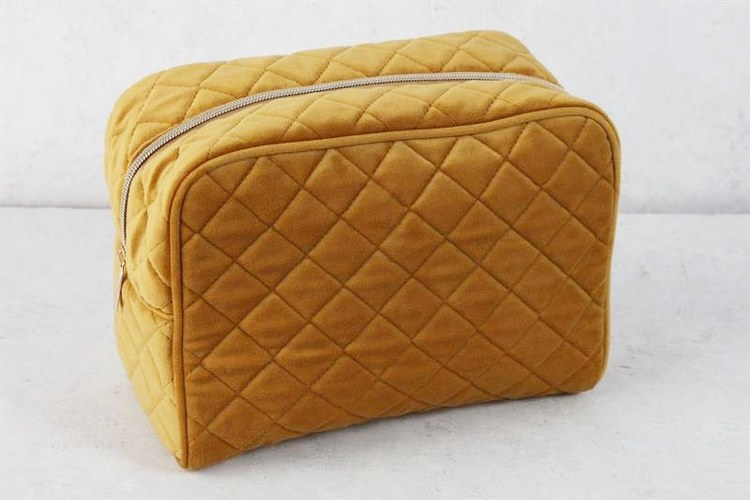 Necessär - Quilted Sammy - Golden Yellow - L