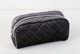 Necessär - Quilted Sammy - Black Beauty - S