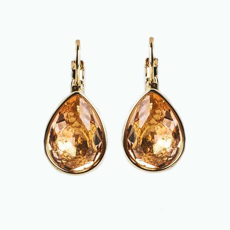 Örhängen - Glam Teardrop - Champagne Gold